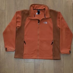 THE NORTH FACE Fleece Full Zip Jacket Orange XXL?